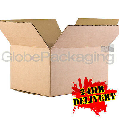 5 x LARGE Cardboard Storage Packing Boxes 24x18x18