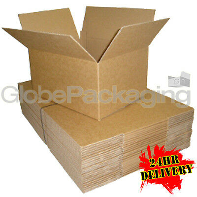 25 x 12x9x9 SINGLE WALL POSTAL CARDBOARD BOXES 12