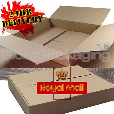 500 MAXIMUM SIZE ROYAL MAIL SMALL PARCEL PACKET POSTAL BOX 449mm x 349mm x 79mm