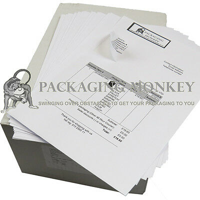 5000 x QUALITY A4 SHEETS OF INTEGRATED LABELS 110x60mm EBAY AMAZON POST PEEL OFF