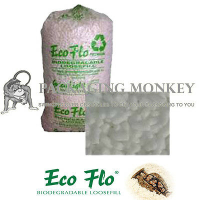 45 Cubic Feet Of Ecoflo Loose fill Packing Peanuts FAST