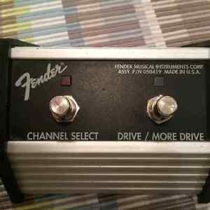 Footswitch Fender – guitar amp