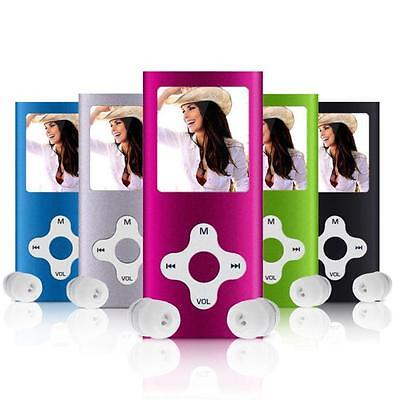 "8GB MP3 MP4 Player Slim Music Media Digital 1.8"" LCD Screen FM Video Games Movie"
