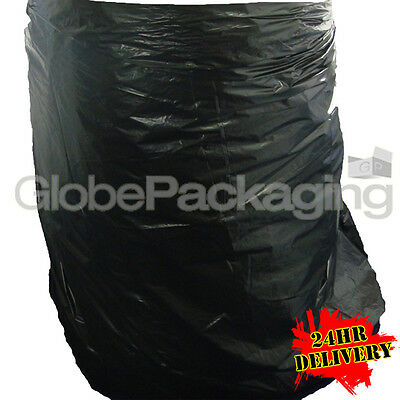 500 x WHEELIE BIN LINERS RUBBISH SACKS BAGS 30x46x54