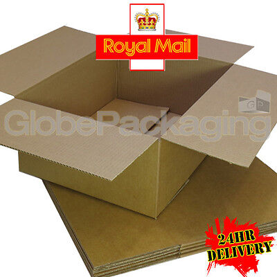 200 x NEW 450x350x160mm ROYAL MAIL MAX SIZE SMALL PARCEL CARDBOARD POSTAL BOXES