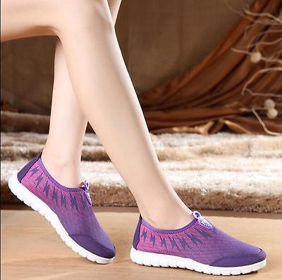 Summer Womens Fashion Sneakers Sneakers Breathable Net Running Shoes