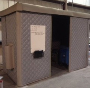 Modular Sound Deadening Acoustic Enclosure