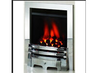 Brand new gas fire in the box