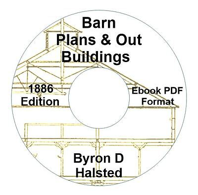 BARN-SMOKE HOUSE-BIRD HOUSE-BUILDING PLANS CD Ebook PDF-Kindle-iPhone Compatible