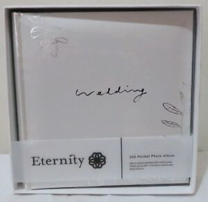 Eternity 200 Pocket Wedding Photo Album With Memo Area In Gift Box (RRP $ 39.95)