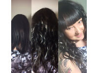 Hair extensions by Innovative hair by Ann, home based in Great barr Birmingham West Midlands