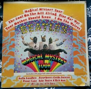 The Beatles Magical Mystery Tour LP 12 inch Vinyl Record