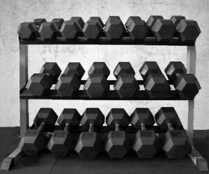 Armortech Dumbbell Storage Rack, Holds up to 30 sets of dumbbells