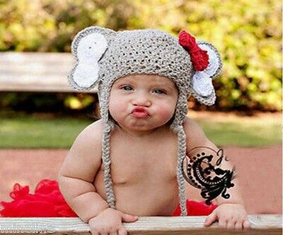 ★★★NEU Baby Fotoshooting Kostüm Kleiner Elefant & Tütü rot 3-18 - Elefant Kostüm 18 Monate