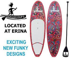 Stand up Paddle board Flower Package with Paddle Grip Legrope Erina Gosford Area Preview