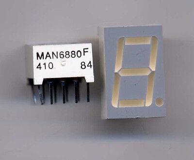 Yellow Led 7 Seg Display Man 6880