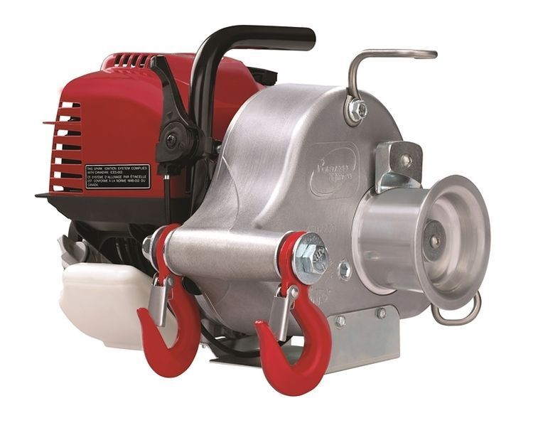 Portable Gas-Powered Capstan Winch - PCW3000