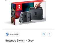 Nietendo switch