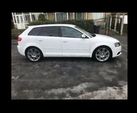 2012 AUDI A3 S LINE SPORTBACK (S/S) 2.0 TDI WITH BLACK EDITION - FULL 12 MONTHS MOT TILL MAY 2019