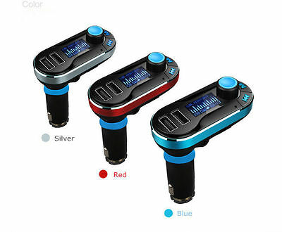 USB LCD AUX-IN Audio Car Kit MP3 Player FM Transmitter Charger For iphone ipod