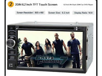 car dvd double din brand new full hd
