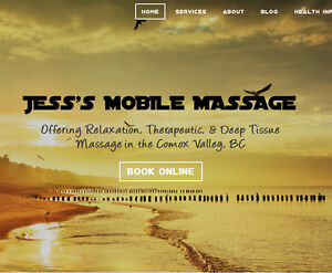 Jess's Mobile Massage- Stay indoors and be pampered! Comox / Courtenay / Cumberland Comox Valley Area image 2