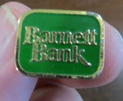 BARNETT BANK advertising collectible lapel pin