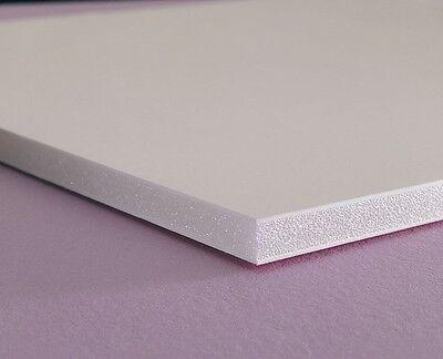 """WHITE SINTRA PVC FOAM BOARD PLASTIC SHEETS 3MM 1/8"""" 24"""" X 24"""""""