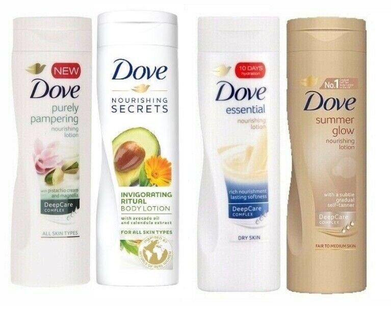 Dove Nourishment Body Lotion 250ml 400ml Choose Yours Ebay