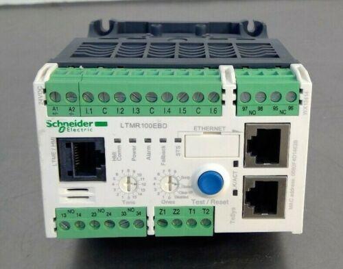 Schneider Electric LTMR100EBD Motor Management Controller                   4E-6