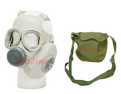 Surplus Unissued Military Vietnam Chinese Gas Mask W Carrying Bag Pouch