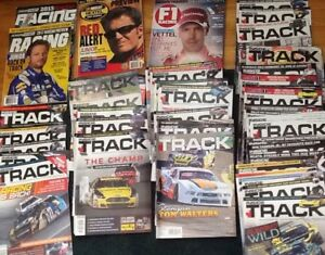51 AUTO RACING MAGAZINES, also BOOKS:    47 issues of INSIDE TR