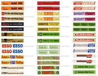 Subbuteo 42 Old Advertising Stickers For Grandtand & Terrace -  - ebay.it