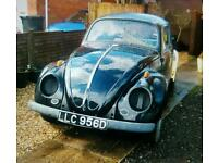 1966 beetle with extras