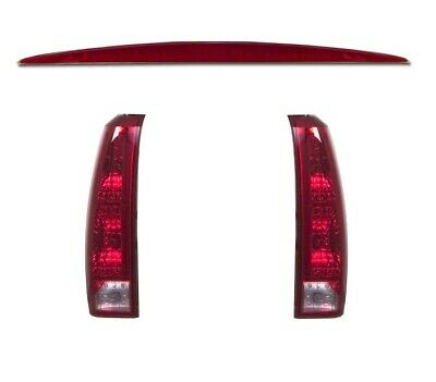 Left Right Genuine Tail Lights Lamps Third Brake Light Kit for Escalade EXT GM