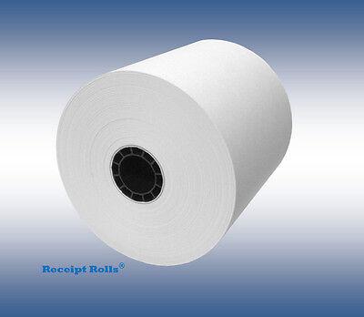 3 18 80mm X 230 Thermal Receipt Paper Pos Register Rolls - 50 Per Case