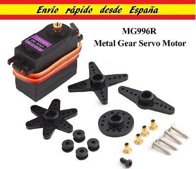 Servo MG996R motor Engranaje Metálico Avion Barco Helicoptero Coche Metal Gear