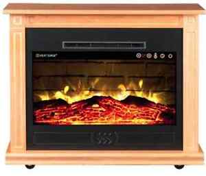 Heat Surge Electric Fireplace | eBay