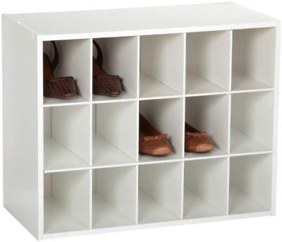 Mudroom Shoe Rack (Stackable Shoe Organizer Rack Closet Shelf Mudroom Entryway Hall Office Garage )