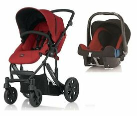 Britax Travel System (Pushchair (with cosytoes), Car-Seat and Isofix Base
