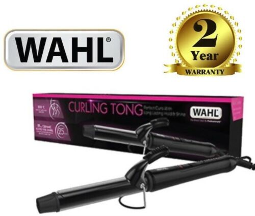 Wahl ZX913 Professional 25mm Ceramic Hair Curling Iron Tong Curler Wand 200°C