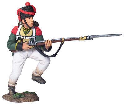 W. Britain - Napoleonic Nassau 2nd Light Infantry Carabinier Charging No 1 17605