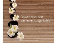 Professional male masseur and massage service