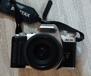 Pentax MZ-50 camera with 35-80mm lens