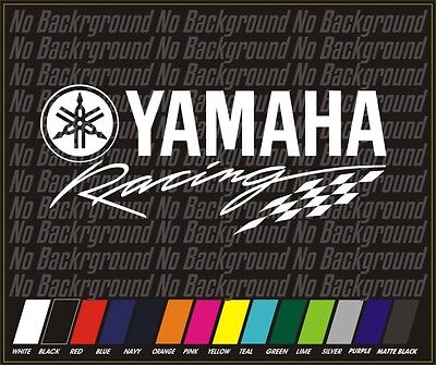 YAMAHA Racing Fox Head Sticker Decal MX ATV MTB BMX OFF ROAD motorcycle moto 9