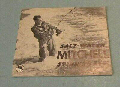 Garcia Mitchell Saltwater Fishing Reel Instruction Booklet