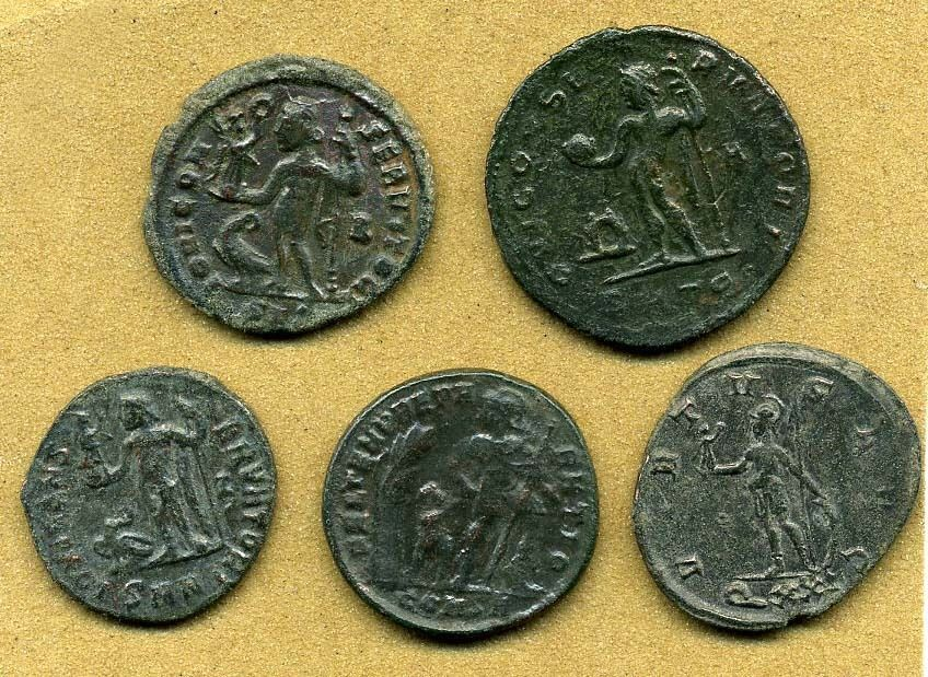 how to clean roman coins with electrolysis