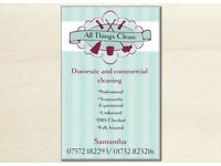AllThings Clean - Cleaning Services