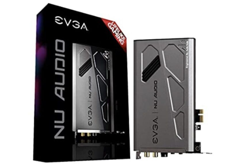 EVGA NU Audio Card with Audio Note (712-P1-AN01-KR)