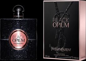 'BLACK OPIUM' BY YVES SAINT LAURENT, NEW & SEALED, 90ML, IDEAL XMAS GIFT! COLLECTION OR DELIVERY...
